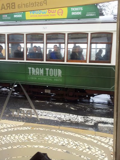GREEN Tram Lisbon Praca do Figueira April2016 2