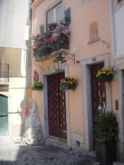 Alfama Lisbon street 26