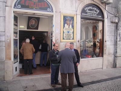 Lisbon A Ginjinha' cafe Lisbon tourist attraction 1