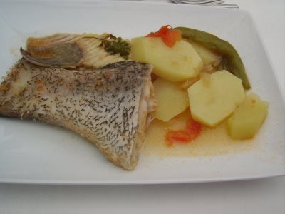 Caldeirada de peixe portugese fish stew