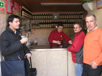 A Ginjinha near Restauradores Lisbon Portugal