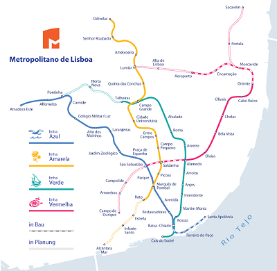 Subway Map Of Lisbon.Taxi S Archives The Lisbon Connection The Lisbon Connection