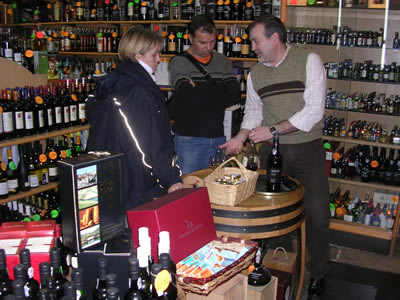 Napoleão shop Port tasting