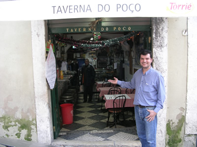 Taverna do Poco Largo terreirinho