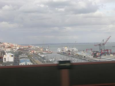 Alfa Pendular view Alcantara Lisbon