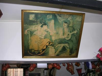Fado Maria Severa painting