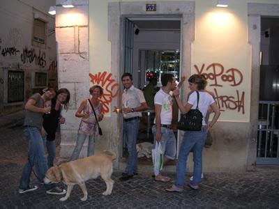 Gay cafe Side Rua do Barroco