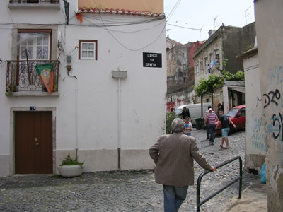 Mouraria historical center fado Rua da Severa