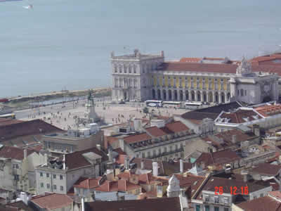 Lisbon viewTerreiro do Paco