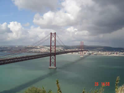 25 April Bridge Lisbon