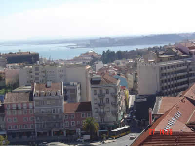 Lisbon view on the Tagus River