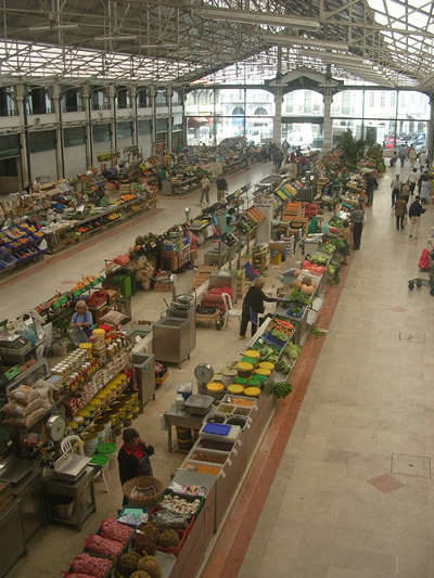 Mercado Da Ribeira overview market