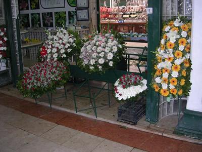 Mercado da Ribeiro Lisbon funeral flowers