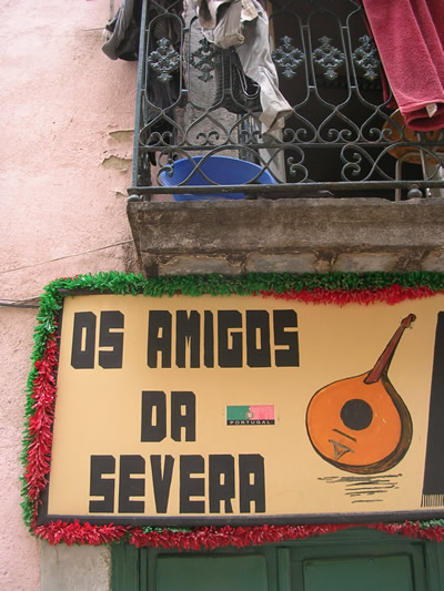 Mouraria Fado Friends of Maria Severa