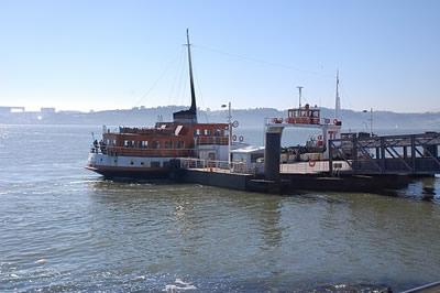 Ferry Lisbon Tagus River Martijn Kramers