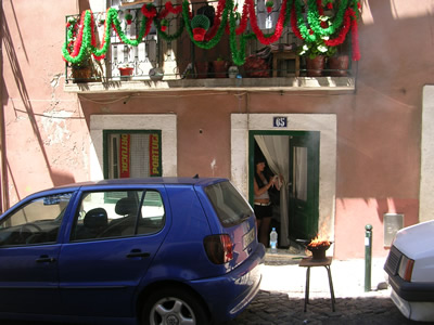 Lisbon santo Antonio Alfama BBQ