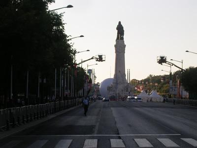 Lisbon Avenida da Liberdade June 12 Santo Antonio