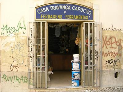Bairro Alto by day graffiti