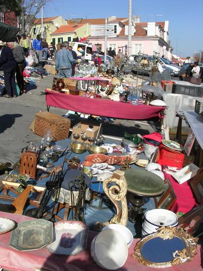 Lisbon Shopping Feira da Ladra
