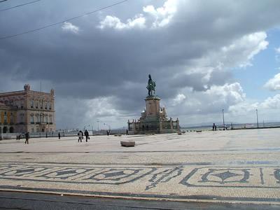 Lisbon Praca do Comercio 2007