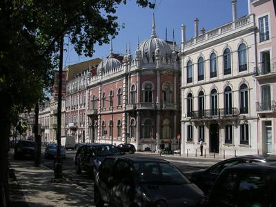 Lisbon Principe Real Rua dom Pedro V Cunha Palace