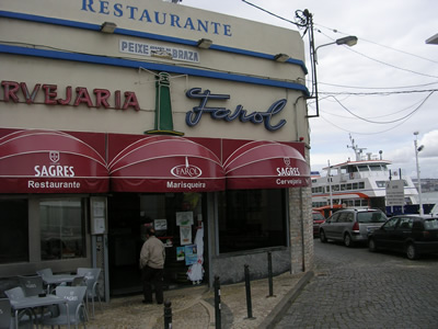 Lisbon restaurants O Farol Cacilhas