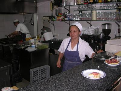 Lisbon Restaurante Toma-La-Da-Ca kitchen