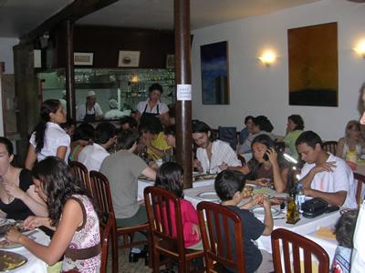 Lisbon Bairro Alto cheap restaurants Toma La Da Ca