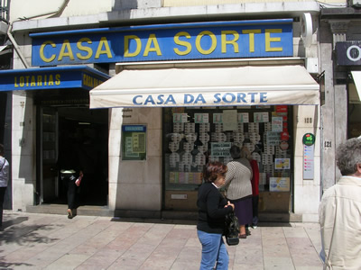 Lisbon Rossio lottery