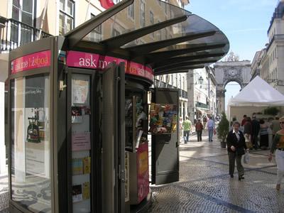 Lisbon Welcome Center Rua Augusta tourist information