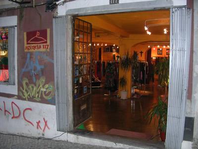 Bairro Alto by day trendy shop