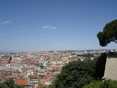 Lisbon: view from Castelo Sao Jorge