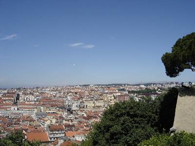 Lisbon: view from Castelo Sao Jorge