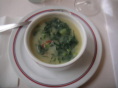 Eating drinking Lisbon Caldo Verde soup