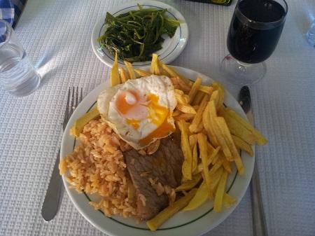 Restaurant Jose Marie e Laurinda delicious bitoque