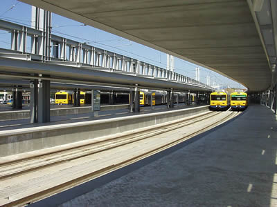 Lisbon Cais do Sodre Railway station