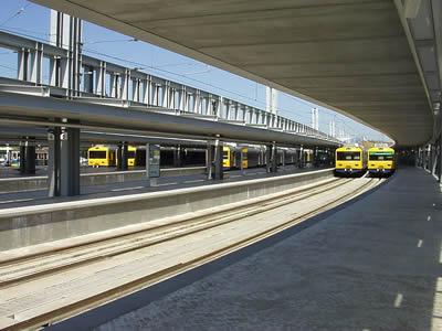 Lisbon Cais do Sodre Railway station
