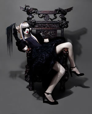 Aurelio Ramos winner of Gothic Luxury Award hairdresser 2006