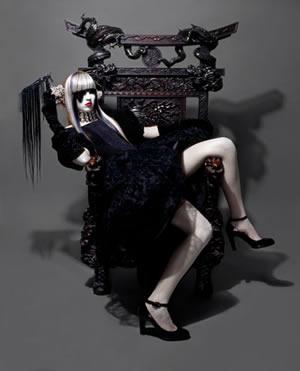 Aurelio Ramos winner of Gothic Luxury Award hairdresser 2006