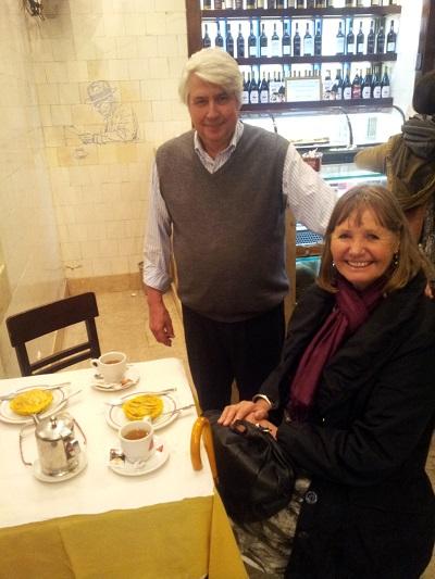 Martinho da Arcade cafe restaurznt Lisbon sr Barbosa and Margriet de Vrieze