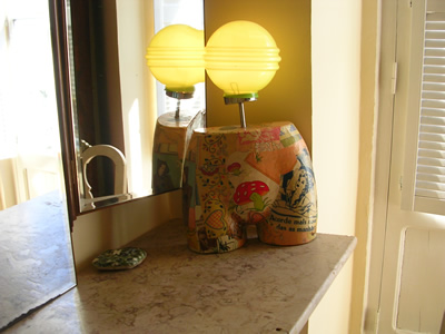 Alberto Gourgel lamp bedroom Mouraria