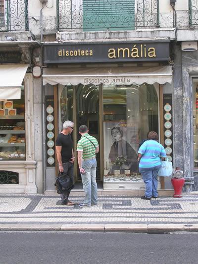 Amalia Rodrigues shop Rua Aurea 274