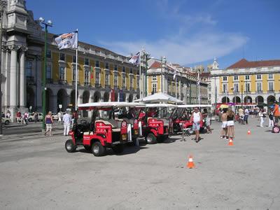 Lisbon Buggies Praca do Comercio 2