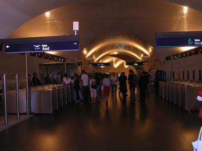 Metro Station Baixa Chiado metro lines