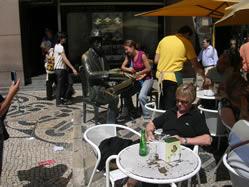 Lisbon statue Pessoa 6
