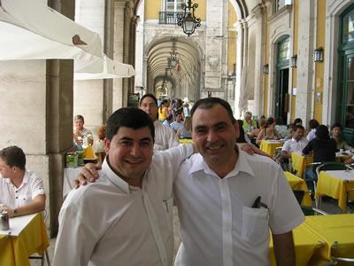 restaurant Martinho da Arcada friendly waiter