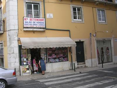 Calcada do Duque from Rua Nova da Trindada