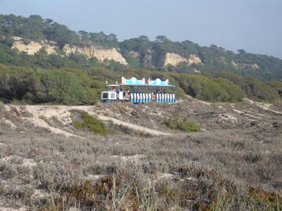 Costa da Caparcia trans praia train