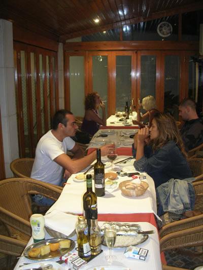 Meco Restaurant Tropical do Meco smoking allowed veranda
