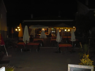 Meco Village Restaurant Tropical do Meco terrace